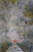 Im Regen - Sabine Koloska